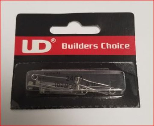 UD Builders Choice Coils 10 pc Pkg