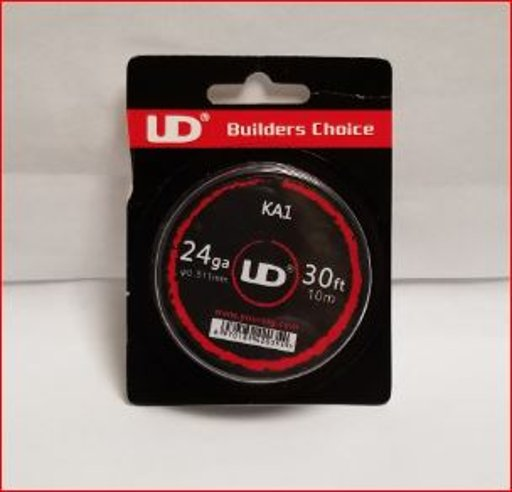 UD Kanthal A1 Wire 24GA, 0.5mm 30FT